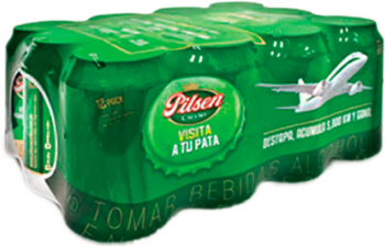 Cerveza Pilsen 12x355ml