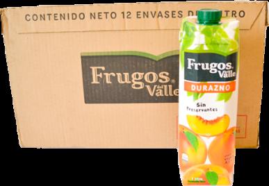 Frugos Durazno 12x1L
