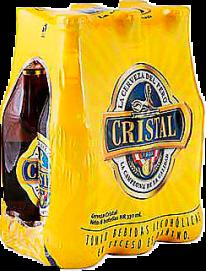 Cerveza Cristal 330 ml