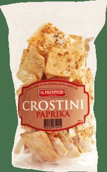 Crostini de paprika