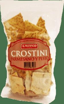 Crostini de pesto