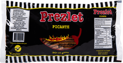 Prezlet Picante 250g