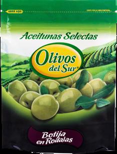 Aceitunas Botija en rodajas