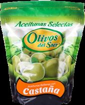 Aceituna verde rellena de castaña