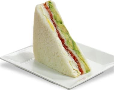 Sandwich Triple (blanco)