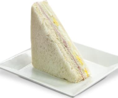 Sandwich con Pollo y Jamón (blanco)