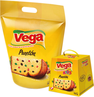 Panetón en Bolsa + Kids Vega