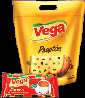 Panetón en Bolsa + Chocolate Vega