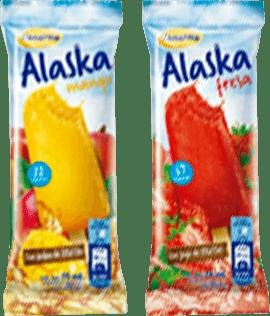 Alaska Mango y Fresa