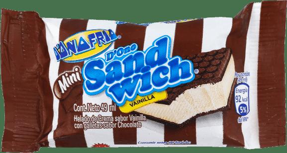 Sandwich Mini Vainilla