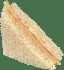 Sandwich con Jamón y Queso