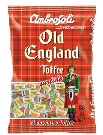 OLD ENGLAND TOFFEE SURTIDO 20X80X5.8GR