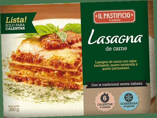 Comida Lista - Lasagna de Carne