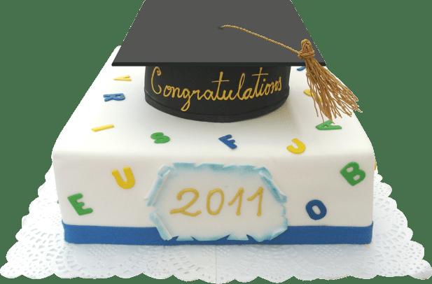 Torta Día de mi Graduación-Torta especial 2 pisos