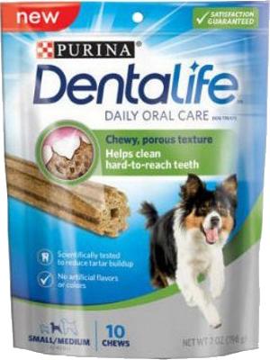 Dentalife dog s/m breed x198g