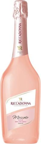 Espumante Asti Riccadonna Moscato Rose Botella de 750ml