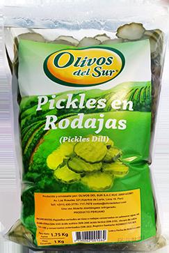 Pickles Dill en rodajas