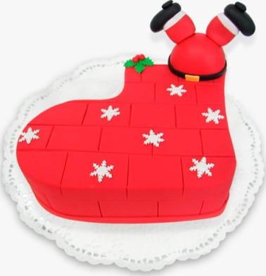 Navidad Bota Grande