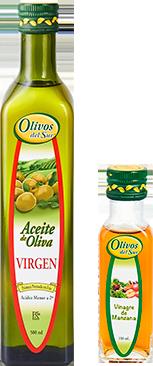 Aceite de Oliva Virgen + Vinagre de Manzana