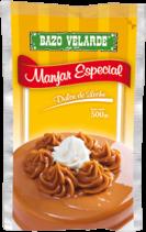 Manjar Especial Bazo Velarde Bolsa 1x500g