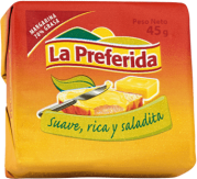 Margarina La Preferida Barra 1x45g