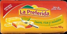 Margarina La Preferida Barra 1x90g