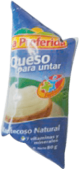 Crema de Queso Natural La Preferida Sachet 1x80g