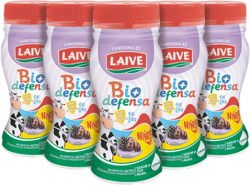 Yogurt Uva/Mora Kids Bio Defensa Laive Pack 4x100ml