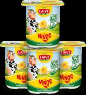 Yogurt Durazno Niños Laive Pack 4x100ml
