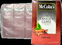 Te Canela y Clavo McColins Caja 100 Bolsas