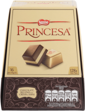 Chocolate Princesa Nestle Display 16x8g