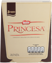 Chocolate Princesa Barra Nestle Display 20x30g