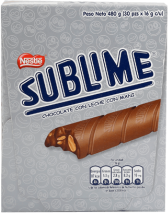 Chocolate Sublime Nestle Display 30x16g