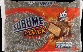 Chocolate Sublime Power Nestle Display 6x30g