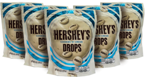Chocolate Hersheys Drops Cookies Cream Hersheys Display 8x227g