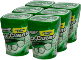 Chiclet Ice Cubes Spearmint Icebreakers Display 4x92g