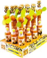 Caramelo Minions Candy Fan Minions Display 12x15g