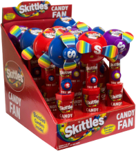 Caramelo Skittles Candy Fan Skittles Display 12x15g