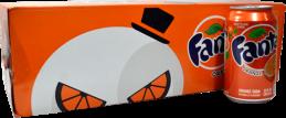 Fanta Naranja Lata 350 ml Gaseosa