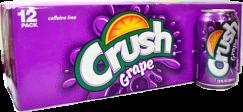 Crush Uva Lata 355 ml Gaseosa