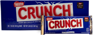 Chocolate Crunch Nestle Display 36x43g