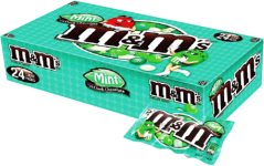 Chocolate M&M'S Dark Mint Mars Display 24x42.5g