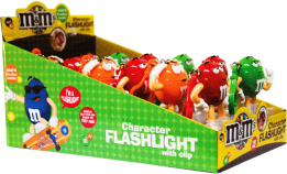 Chocolate M&M'S Character Flashlight Mars Display 12x13g