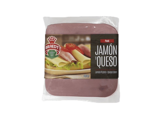 Pack Jamón y Queso Braedt