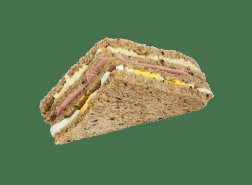Sandwich con Pollo y Jamón (integral)