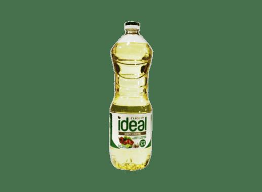 Aceite Ideal clásico caja 12 botellas x1L