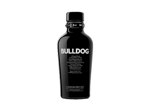 LONDON DRY GIN BULLDOG 750ML