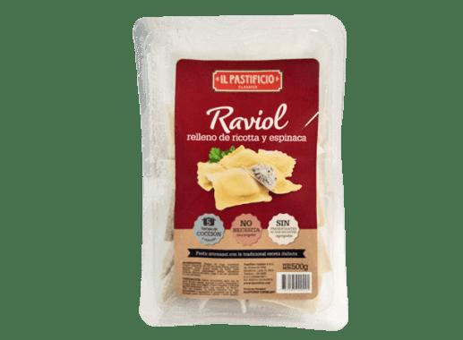 Raviol Ricotta y Espinaca