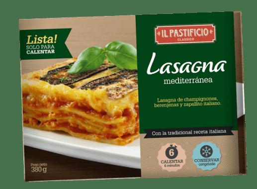 Comida Lista - Lasagna Mediterránea
