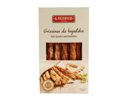 IL Pastificio grisinos parmesano